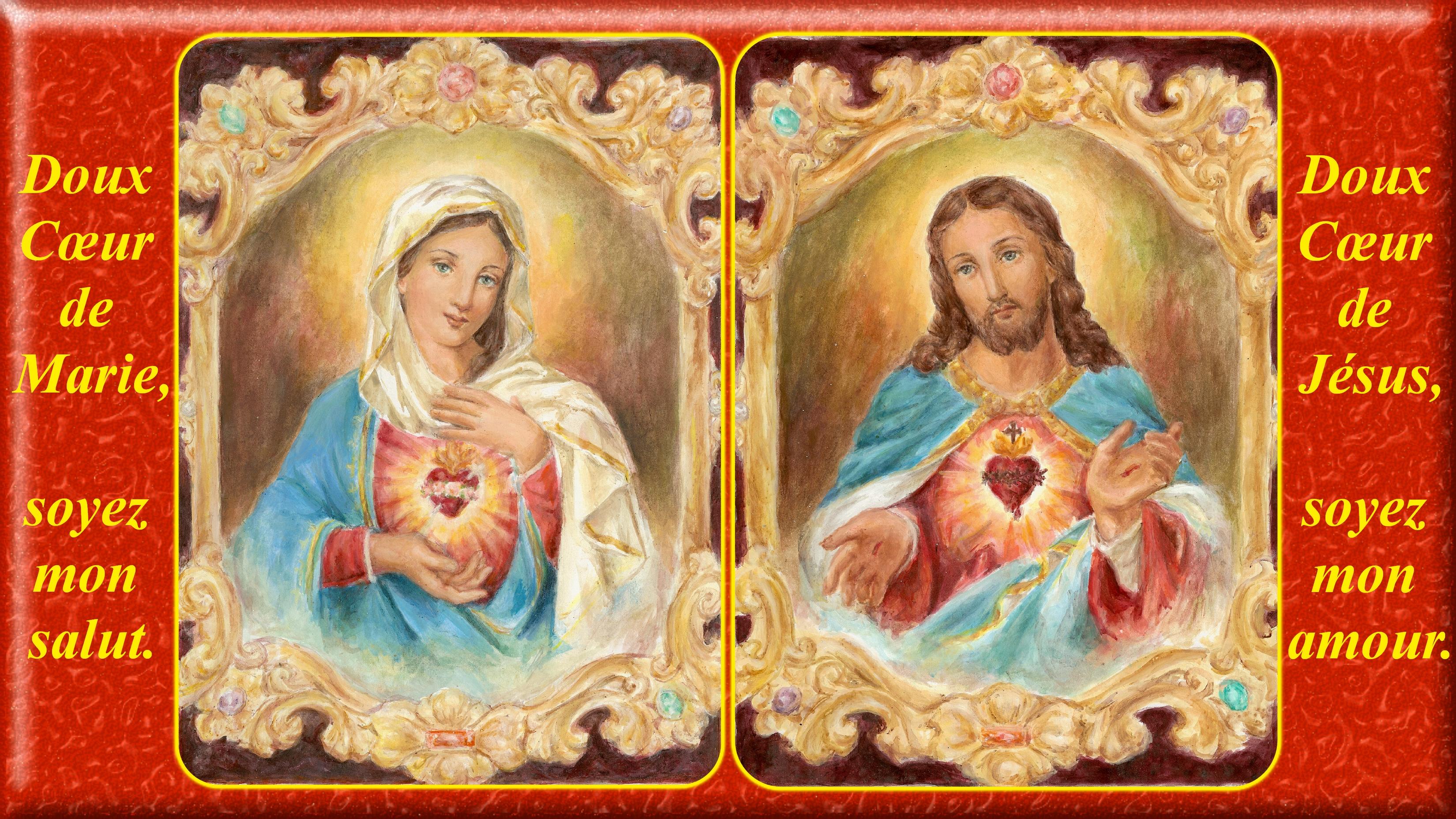 CALENDRIER CATHOLIQUE 2020 (Cantiques, Prières & Images) - Page 18 Les-sacr-s-coeurs...de-marie-577d66b