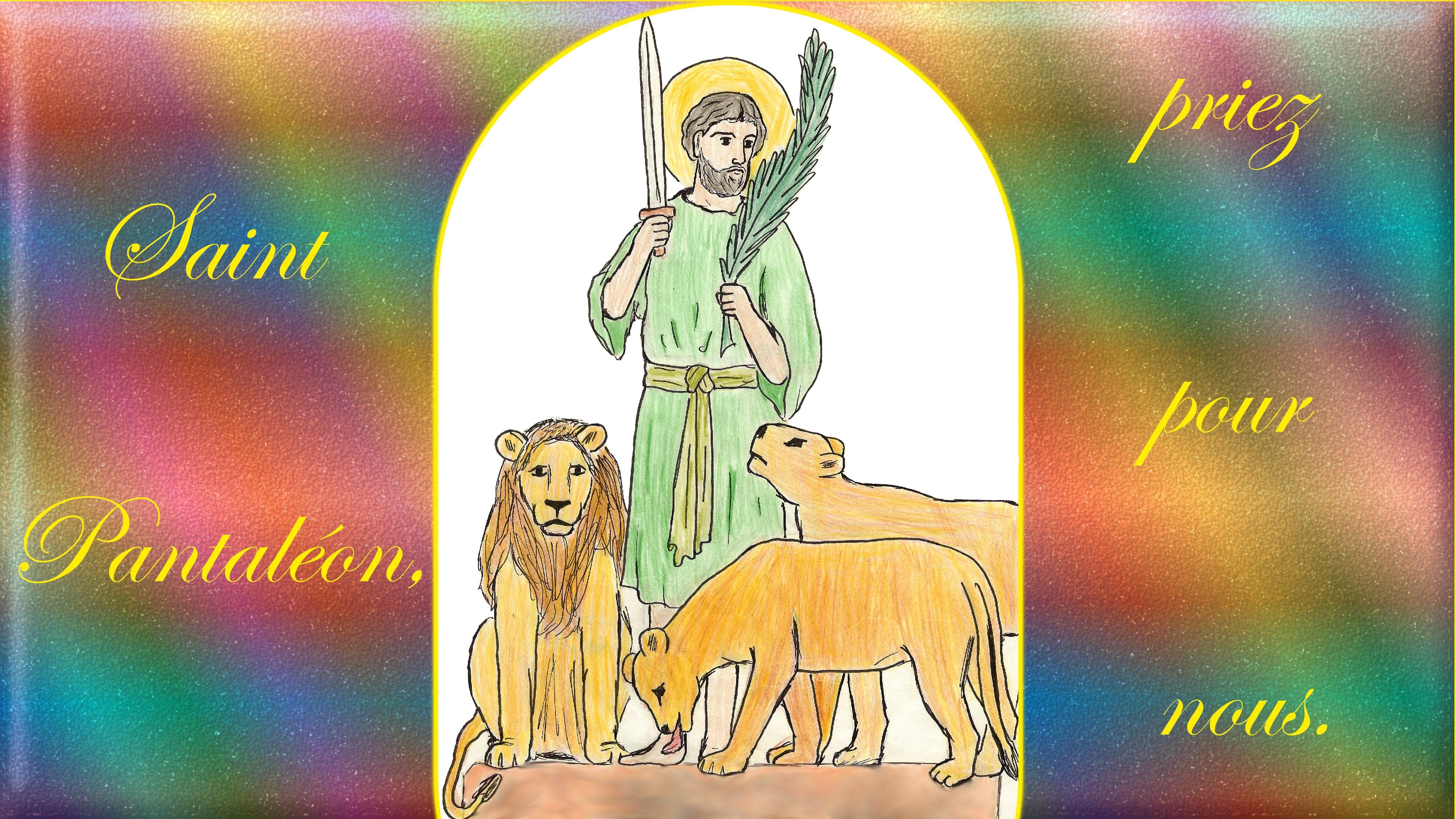CALENDRIER CATHOLIQUE 2020 (Cantiques, Prières & Images) - Page 21 St-pantal-on-5796778
