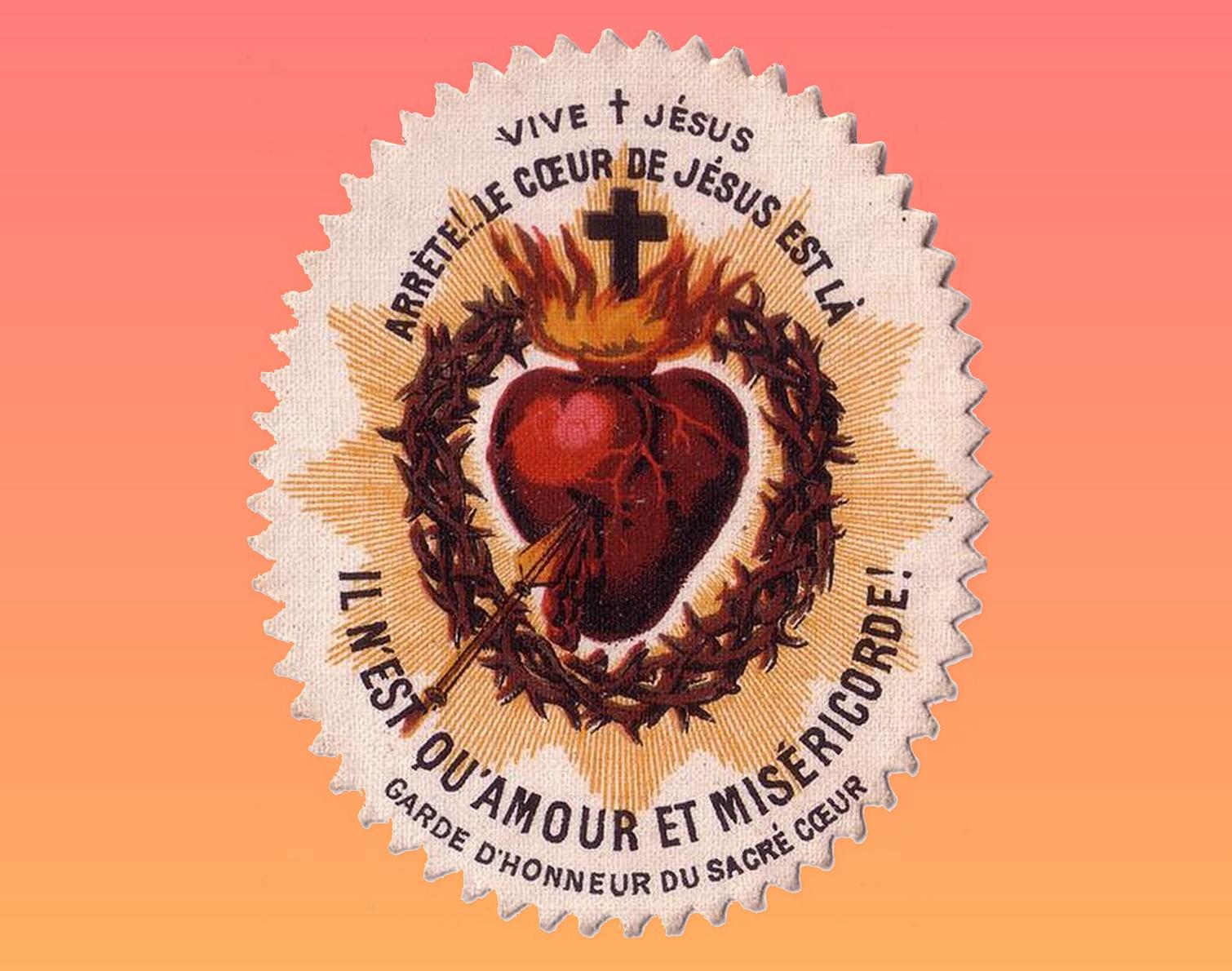 CALENDRIER CATHOLIQUE 2020 (Cantiques, Prières & Images) - Page 18 Sacr--coeur-garde-d-honneur--577e5eb
