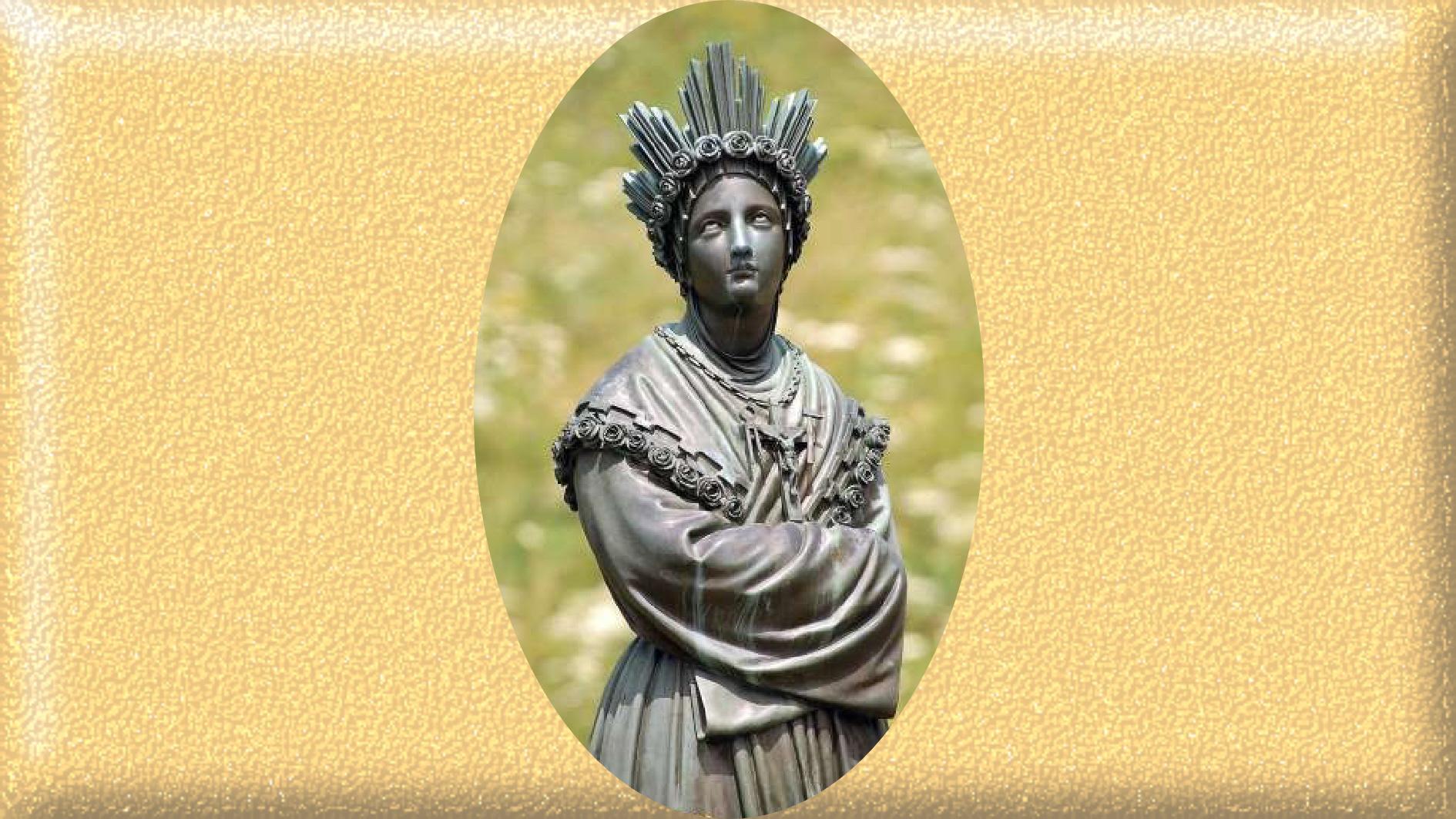 LITANIES de NOTRE-DAME de La SALETTE Notre-dame-de-la-...-statue--57b78d1