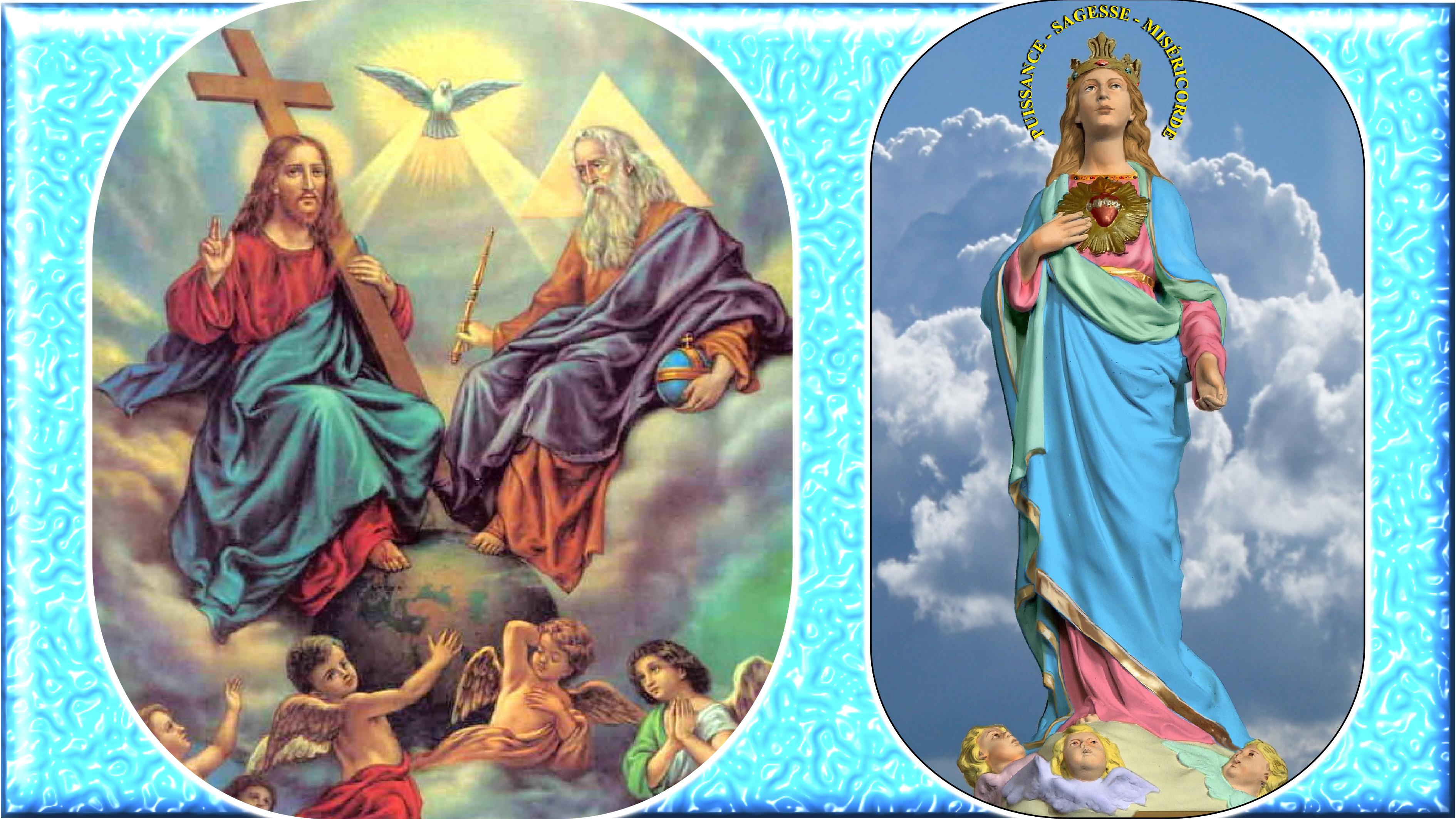 CALENDRIER CATHOLIQUE 2020 (Cantiques, Prières & Images) - Page 16 Notre-dame-de-la-...ve-maria-5717f56