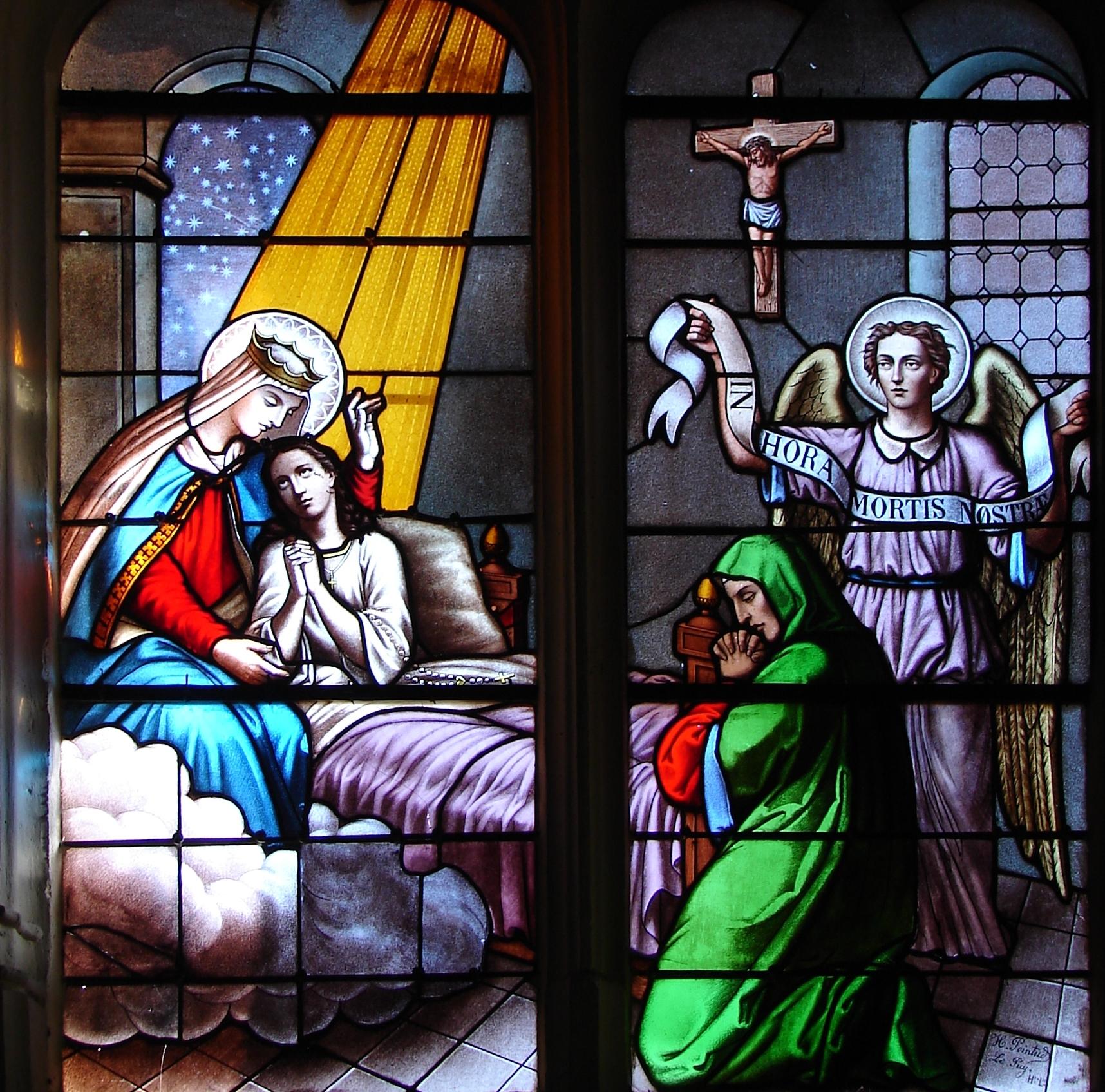 Le CIEL OUVERT par les 3 AVE MARIA du MATIN et du SOIR & La NEUVAINE EFFICACE Sainte-marie-m-re...tre-mort-56ee53a